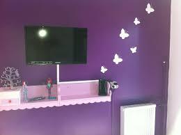 chambre violet et chambre violet et blanc inspirations et emejing mur mauve et gris