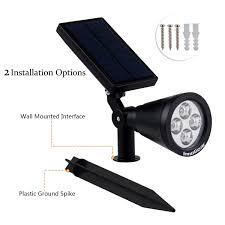 solar landscaping lights outdoor innogear upgraded solar lights 2 in 1 waterproof outdoor landscape
