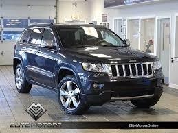 jeep grand true blue pearlcoat 2013 jeep grand overland 61656 true blue pearlcoat