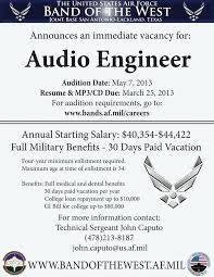 Audition Resume Template Sample Audition Resume Download Audio Engineer Sample Resume