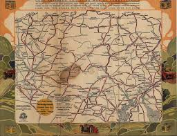 Road Map Of Pennsylvania by Map Of The Week Gas Station Maps The Early Days