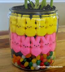 peeps decorations how to make a peeps and tulips centerpiece
