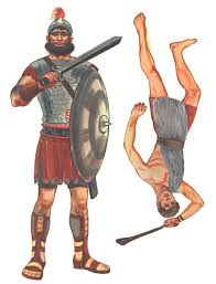 david and goliath google search biblical characters