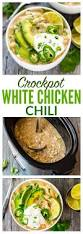 crockpot white chicken chili well plated by erin