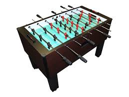 3 in one foosball table shelti home pro foosball table in mahogany with chrome rods and