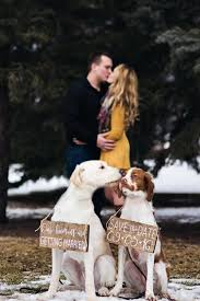 save the date signs 19 adorable doggie save the dates for when you re a ruff