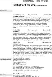 sample firefighter resume 100 fire fighter resume emt resume resume cv cover letter