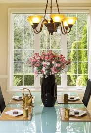 Flowers For Dining Room Table by Vertical Photo Of Dining Room Table With Flowers Tea Pot Tea