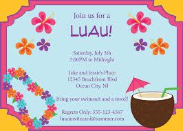 luau party invitation template oxsvitation com