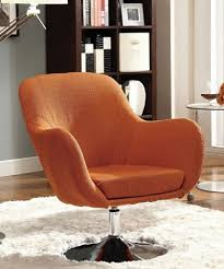 Retro Accent Chair Retro Linen Swilvel Accent Chair