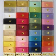 satin bias free shipping polyester satin bias binding bias binding size