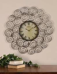 decorative clock using wall clock for home decoration ward log homes