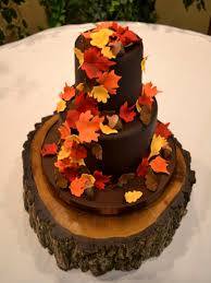 fall wedding cakes fall wedding cakes pictures of autumn wedding cakes 2017