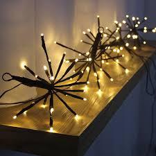 cheap 100 led blast shape light warm white lights 8 modes