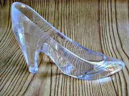 glass slipper party favor cinderella s glass slipper large princess party decoration
