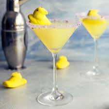 martini easter kitchme peeps lemon drop martini is a fun way to
