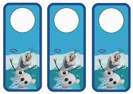 frozen bookmarks u2013 birthday printable