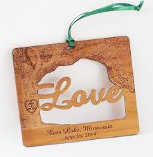 Personalized Ornaments Wedding 97 Best Wood Ornaments Images On Pinterest Wood Ornaments