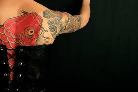 koi carp tattoo images koi fish tattoos meanings