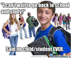 Going Back To School Meme - going back to school by nomnomperson meme center