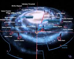 Milky Way Galaxy Map Mass Effect 3 Galaxy Map Image Yanxa Mod Db