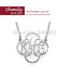 cheap monogram necklace cheap monogram necklace promotion shop for promotional cheap