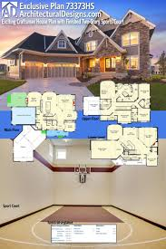 45 best house plans with sport courts images on pinterest