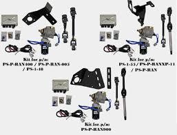 polaris ranger ez steer power steering kit by super atv