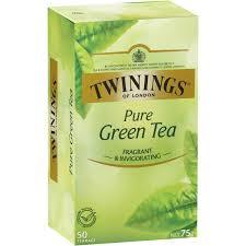 twinings green tea bags 50pk 75g woolworths