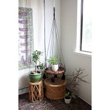 small balcony ideas with hanging planters and chair table home
