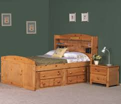 Twin Wooden Bed by Captains Bed Twin With Trundle And Drawers Zachary Traditional