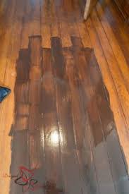 how to darken your wood floors without refinishing or replacing