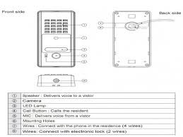 100 wiring diagram for commax intercom night vision 7 inch