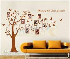 home wall decoration hot designs ems room wall stickers fashion photo tree wall