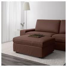 kivik footstool with storage orrsta light grey ikea