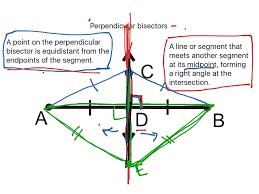 showme perpendicular bisectors proof