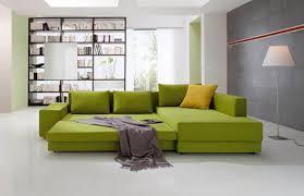 Green Sofa Bed Sofa Bed Corner Contemporary Fabric Confetto By Franz