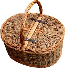 picnic baskets for two two tone oval picnic 2 lid twist handle empty picnic basket
