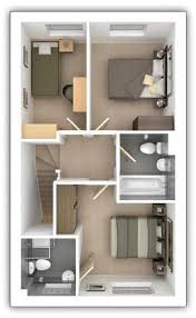 taylor wimpey floor plans 3 bedroom semi detached house the gosford plot 271 in pipers green