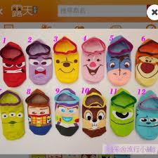 taiwan line disney mickey character ankle socks s