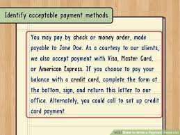 Sample Of Authorization Letter For Receiving Credit Card How To Write A Payment Reminder 13 Steps With Pictures