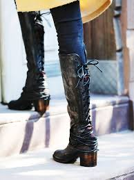 womens boots in freebird by steven coal leather boot available at