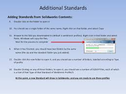 how to customize solidworks weldment profiles