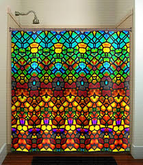 Shower Curtains For Glass Showers 697 Best Unique Shower Curtains Images On Pinterest Window