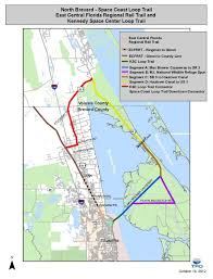 Us East Coast Map Space Coast Loop Trail Space Coast Transportation Planning