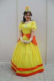 princess daisy costume cosplay by beautyandthefleece on etsy
