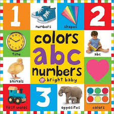 bright baby colors abc numbers walmart com