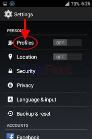 reset android to default how to reset all profiles to default settings in android 4 4 4 kitkat