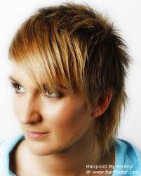 criwn hair cut short hairstyle with a short razored crown and layers covering the