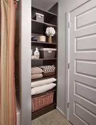 Bathroom Linen Shelves Laundry Room Organization Linen Closet Organization Home Storage
